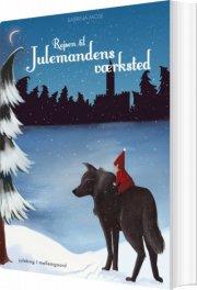 rejsen til julemandens værksted - bog
