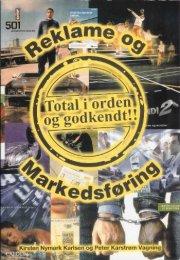 reklame og markedsføring - bog