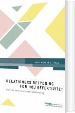 relationers betydning for høj effektivitet - bog
