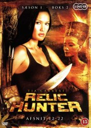 relic hunter - sæson 1 - boks 2 - DVD