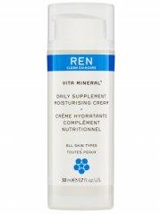ren vita mineral daily supplement moisturising ansigtscreme - 50 ml - Hudpleje