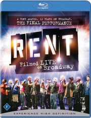 rent - filmed live on broadway - Blu-Ray