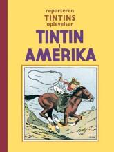 reporteren tintins oplevelser: tintin i amerika - bog