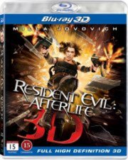 Image of   Resident Evil: Afterlife - 3D Blu-Ray