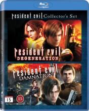 resident evil: damnation // resident evil: degeneration - Blu-Ray