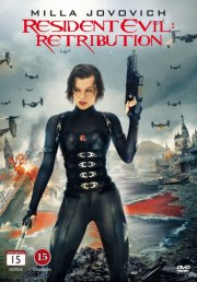 resident evil - retribution - DVD