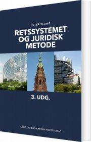 retssystemet og juridisk metode - bog