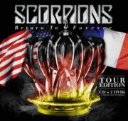 scorpions - return to forever - tour edition - cd