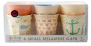 rice melamin krus - small - koral - Babyudstyr