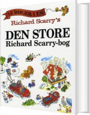richard scarry´s den store richard scarry-bog - bog