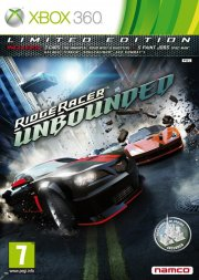 ridge racer unbounded limited edition - xbox 360