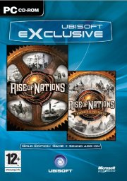 rise of nations gold (exclusive) - PC