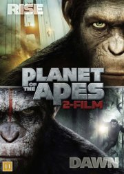 rise of the planet of the apes // dawn of the planet of the apes - DVD