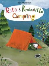 rita og krokodille - camping - bog