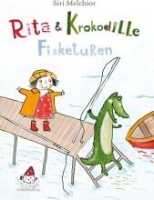 rita og krokodille - fisketuren - bog