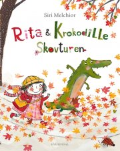 rita og krokodille - skovturen - bog