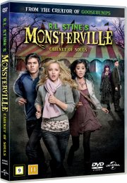 r.l. stines monsterville - the cabinet of souls - DVD