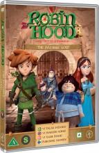 robin hood - sæson 1 vol. 2 - det usynlige guld - DVD