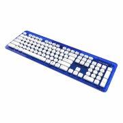 rock candy trådløs tastatur - blueberry boom med nordisk layout - Gaming