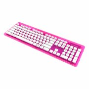rock candy wireless keyboard / bluetooth tastatur - pink palooza - Gaming
