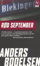 rød september - bog