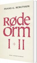 røde orm i + ii - bog