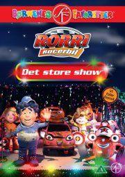 rorri racerbil - det store show - DVD