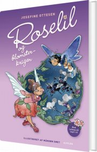 roselil og blomsterkrigen (2) - med cd - bog