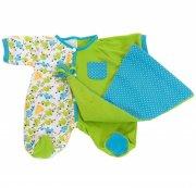 rubens baby tilbehør - grøn pyjamas - Dukker