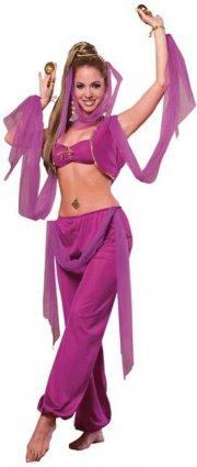 mavedanser kostume til voksne - medium / one size - Udklædning Til Voksne