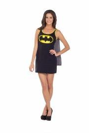 batgirl kostume til voksne - tank top - small - Udklædning Til Voksne