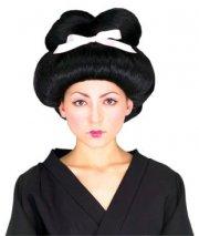 geisha paryk - udklædning tilbehør - Udklædning Til Voksne
