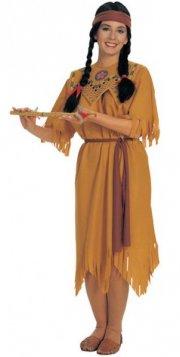 pocahontas kostume til voksne - one size - Udklædning Til Voksne