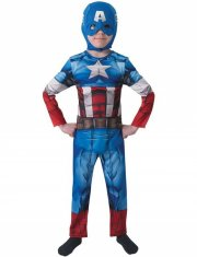 rubies captain america kostume - 7-8 år - Udklædning