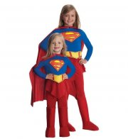 supergirl kostume til pige - small - rubies - Udklædning