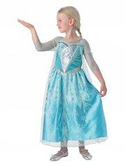 rubies - disney frozen / frost - elsa kjole - large - Udklædning