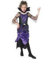 rubies vampyr kostume til piger - medium - 116cm - Udklædning