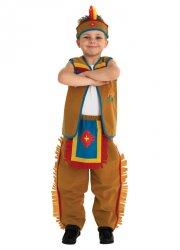indianer kostume - dreng - rubies - medium - Udklædning