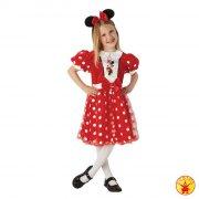 minnie mouse kostume / kjole - 7-8 år - rubies - Udklædning