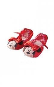 minnie mouse sko / slippers - rød - rubies - Udklædning
