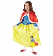 snehvide kostume til børn - medium - rubies - Udklædning