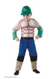 rubies - wwe - deluxe john cena - small - 3-4 years (886771) - Udklædning