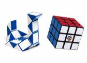 rubiks cube - gaveæske - ny 3x3 + twist snake - Brætspil