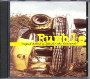 rumble - raped killed & left for the bu - cd