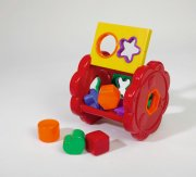 puttekasse - rund - Babylegetøj