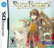 rune factory a fantasy harvest moon (import) - nintendo ds
