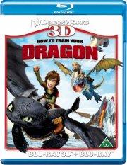 sådan træner du din drage / how to train your dragon  - 3D+2D Blu-Ray