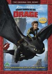 sådan træner du din drage / how to train your dragon - DVD