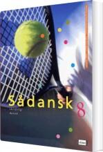 sådansk 8, skriftlig dansk - bog