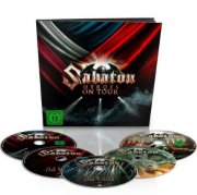 sabaton heroes on tour earbook 2 dvd / 2 blu-ray + cd - DVD